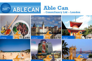 Able Can Consultancy Ltd - London Travel Agency, Hotel, Car Rental