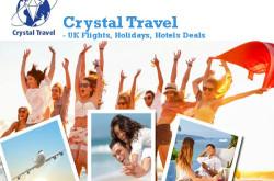 Crystal Travel - UK Flights, Holidays, Hotels Deals