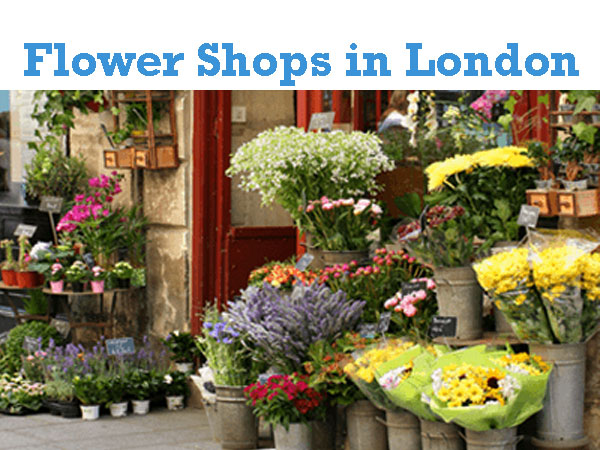 Flower Shops in London UK