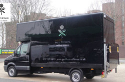 Paul Thomas Flowers Delivery VAN