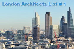 Architect Companies in London – List # 1