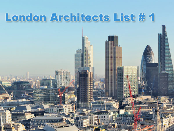 Find An Architect In London Architects List 1