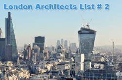 Architect Firms in London – List # 2