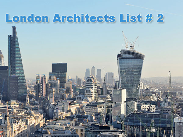 Architect firms in london list 2 for The best architecture firms in london