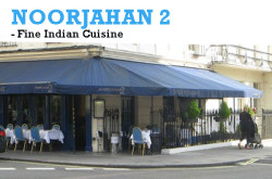 Noor Jahan 2 - Indian Restaurant, London, UK.