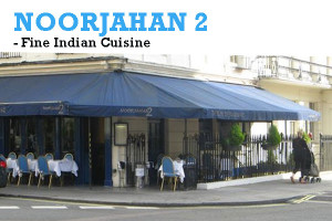 Noor Jahan 2 - Indian Restaurant, London, UK.