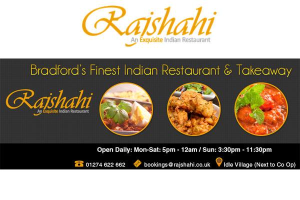 Rajshahi Indian Restaurant Bradford