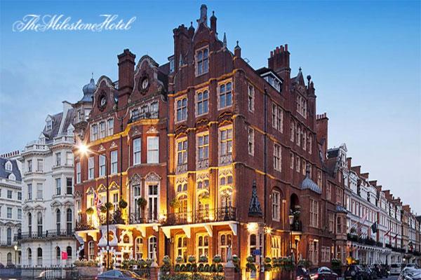 The Milestone Hotel - 5 Star Boutique Hotel Kensington, London, UK.
