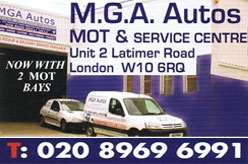 MGA Autos London MOT