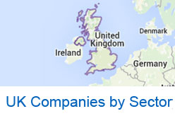 UK companies by sector