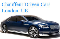 Chauffeur Driven Car in London