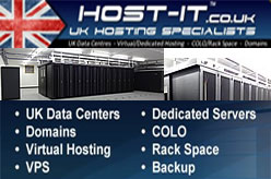 Host-it Internet Solutions - UK based web hosting data centre