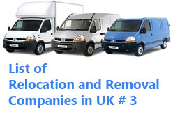 Removal Companies in UK by City – London, Liverpool | List  # 3