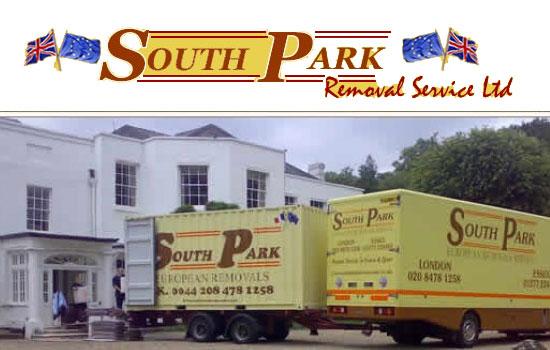 South Park removals UK