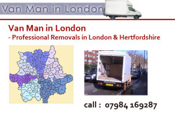 Van Man in London