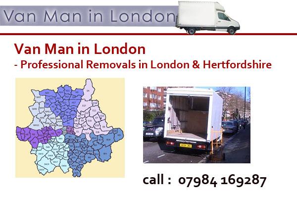 Van Man in London