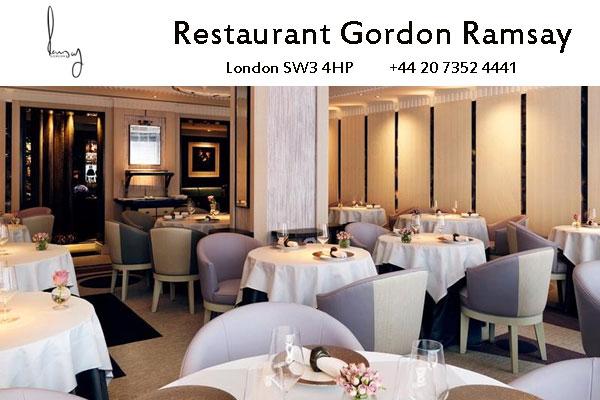 Restaurant Gordon Ramsay, London