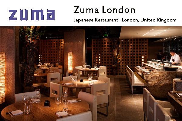 Zuma London Japanese Sushi Bar