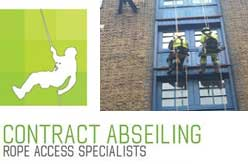 Contract Abseiling Limited | Rope Access. Height Safety Company