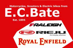 E.C. Bate Motorcycles & Scooter Dealer - Dartford, Kent