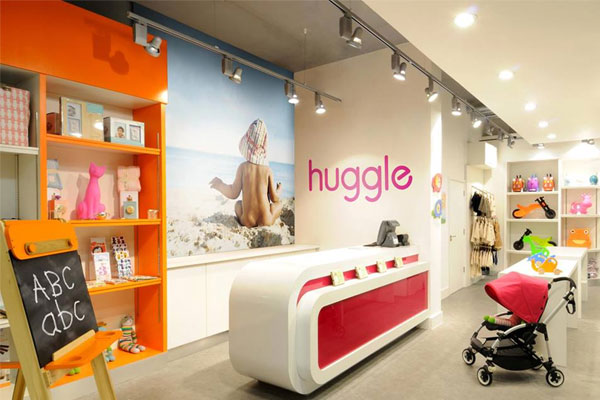 huggles London baby store