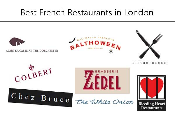 French Restaurants in London