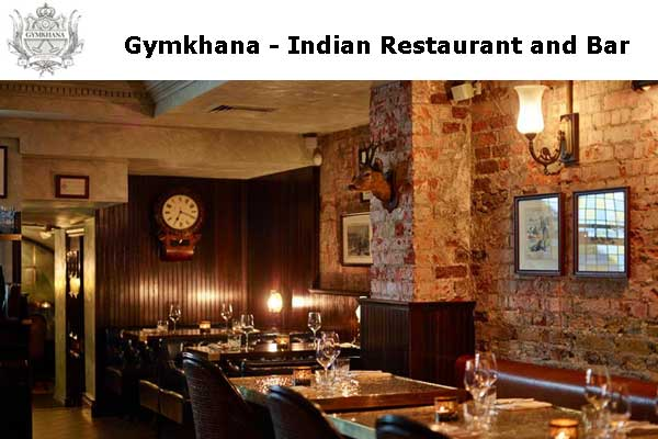 Gymkhana - Indian Restaurant and Bar