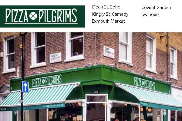 Pizza Pilgrims Pizzapilgrimscouk Neapolitan Pizza In
