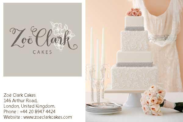 Zoe Clark Cakes London UK