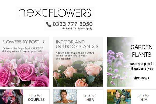 next flowers co uk Online