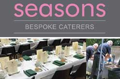 Seasons bespoke catering