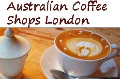 Australian Coffee Shops in London