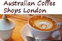 Australian Coffee Shops London