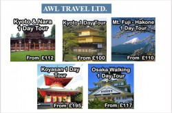 Japan Tour Operators UK