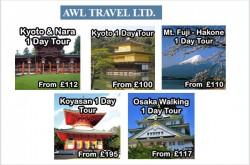 Japan Tour Operators UK