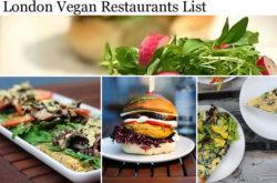 Vegetarian Restaurants London
