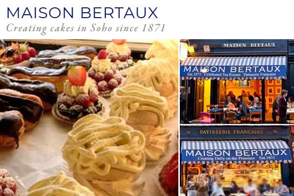 Maison Bertaux - 28 Greek Street, London W1D 5DQ