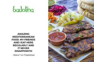 BadolinaLondon Mediterrane Takeaway Food London