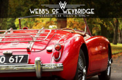 Webb's of Weybridge - Classic Car Sales and Hire