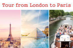 Package Tour to Paris from London