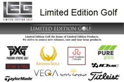 Limited Edition Golf - Golf Shop Website in Swindon Wiltshire