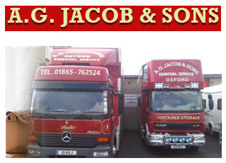 A G Jacob Sons removals oxford