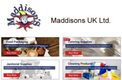 Maddisons UK Ltd - Catering and Janitorial Supplies UK