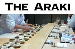 THE ARAKI - Japanese Sushi Restaurant (Edomae Sushi) Mayfair London