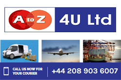 AtoZ 4U Couriers Ltd Wembley - Door-to-Door Courier Company in London, UK