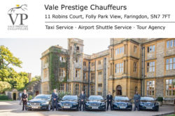 Vale Prestige Chauffeurs - Airport Transfers, Weddings, Corporate, London Theatre Trips
