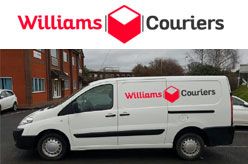 Williams Couriers - Worcester Same Day Courier Delivery Service