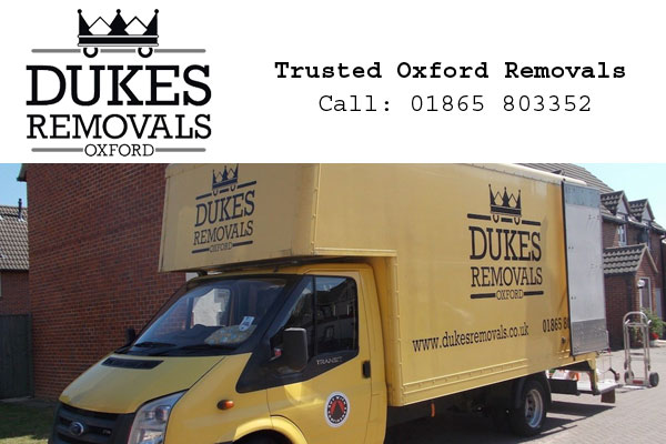 Dukes Removals Oxford
