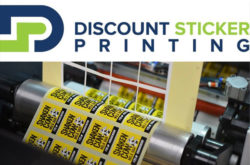 Discount Sticker Printing UK