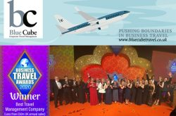 Blue Cube Travel Ltd Best Travel Management Company Winner 2020